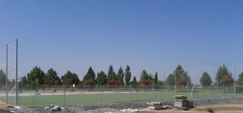 pista polideportiva parque Tico Medina