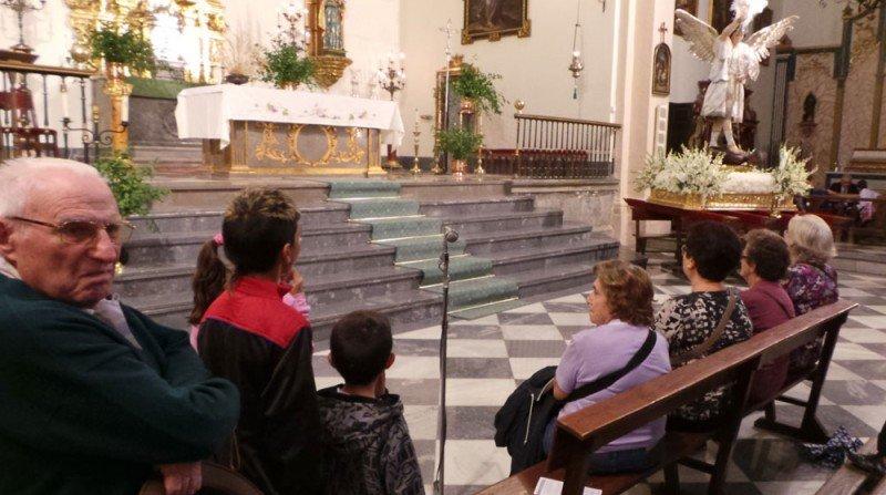 Iglesia del Salvador, San Miguel, fiestas del Albaicín, romería