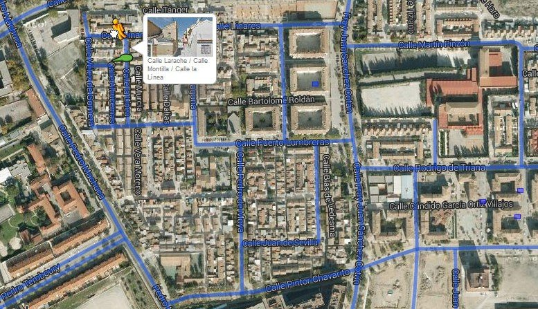 google street view barriada de la paz granada distrito norte