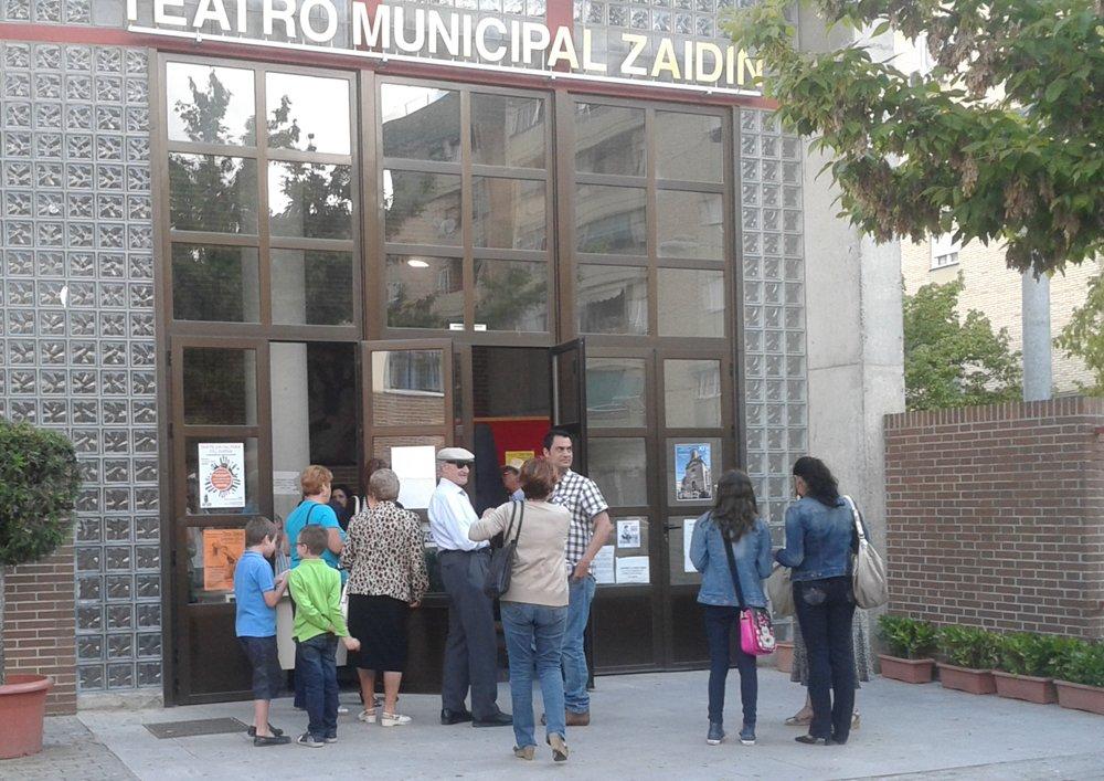 Teatro municipal del Zaidín.