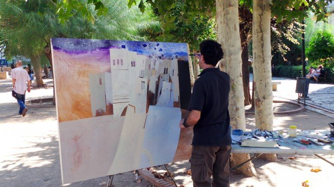 Premios del Certamen de Pintura al Aire Libre del Realejo