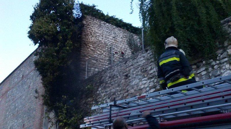 Carril de San Agustín, apagón, Bomberos de Granada