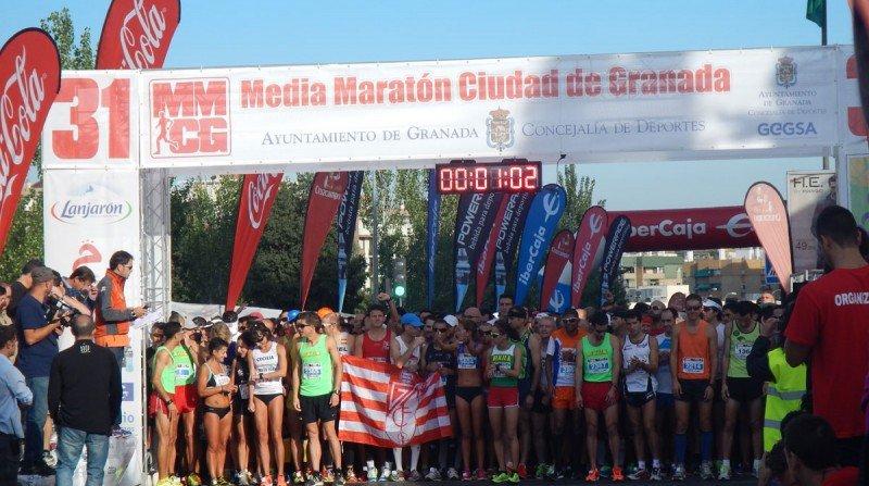 salida media maraton granada