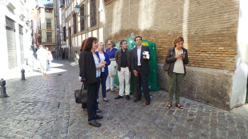 PSOE, calle Elvira, Asociación de Vecinos del Bajo Albaicín