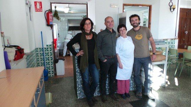 AMPA, colegio público Gómez Moreno, comedor, Albaicín