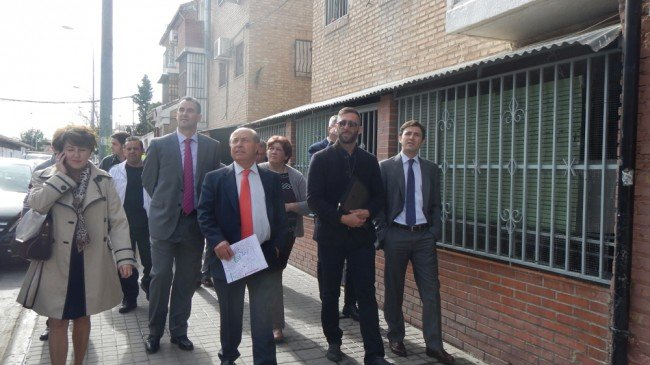 visita alcalde de granada paz