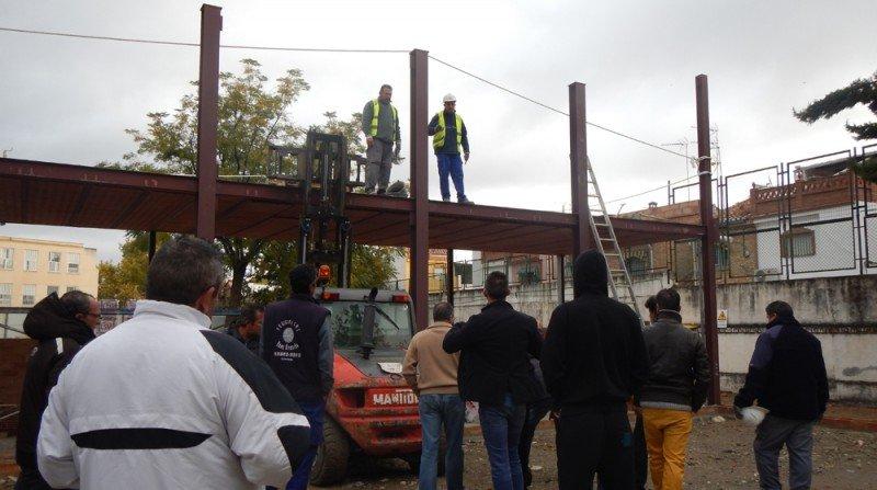 paralización de obra parados La Paz