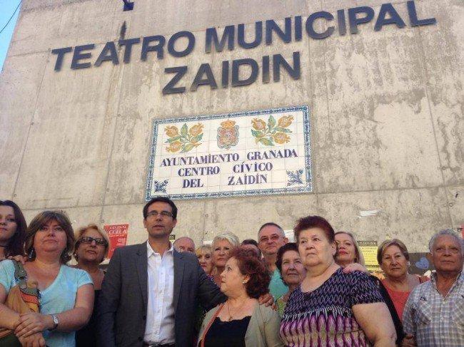 teatro municipal del Zaidín