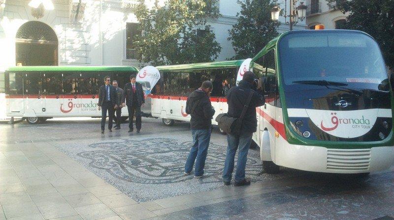 tren turístico alhambra granada