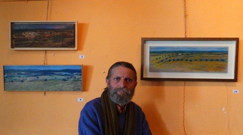 Alfredo Lombardo, exposición de pintura, poeta, Albaicín
