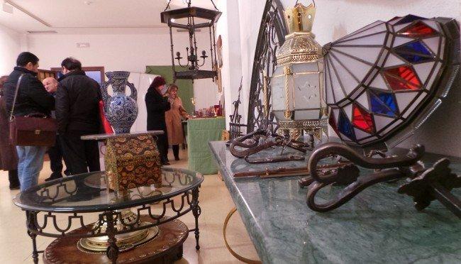 Albaicín, plaza Aliatar, artesanía