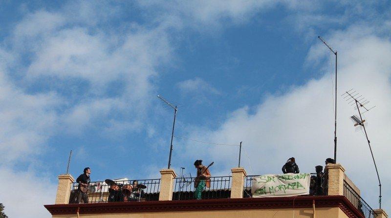 concierto azotea, Albaicín, Plaza de la Merced