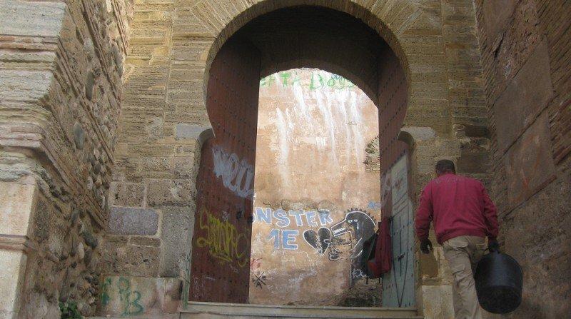Puerta de Monaita, Albaicín, Granada