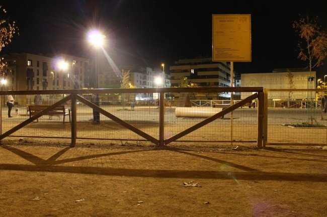 area canina parque Tico medina