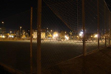 pista deportiva parque Tico Medina