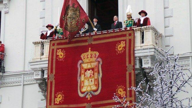 Toma de Granada, 2 de Enero, Tremolación, Juan Francisco Gutiérrez