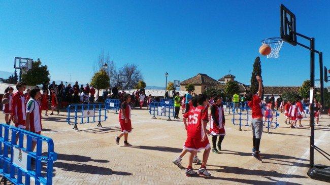 Huerto del Carlos, Baloncesto