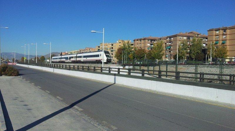 Paso del tren por la Chana