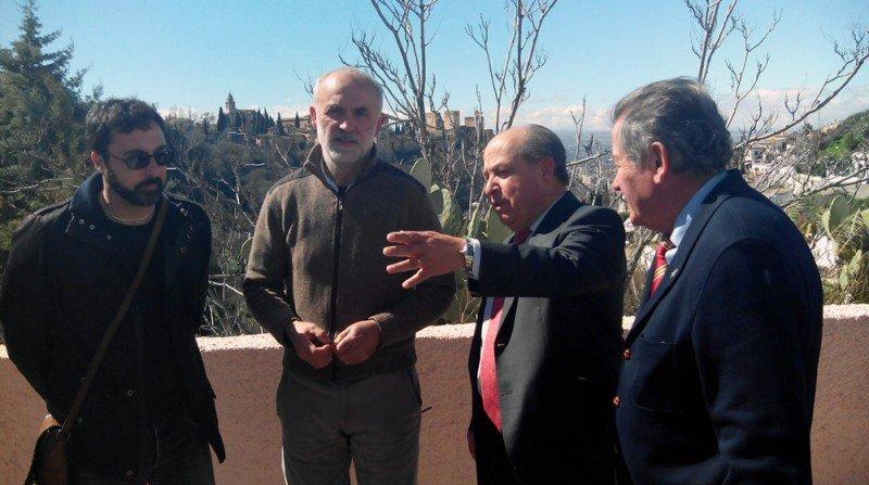 Sacromonte, Asociación de Vecinos del Sacromonte, José Torres Hurtado