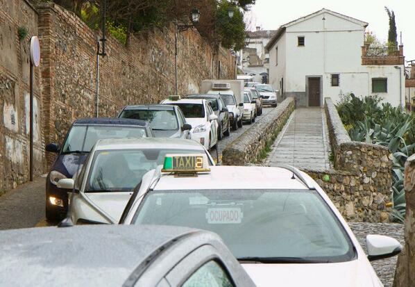 atascos, Albaicín, tráfico