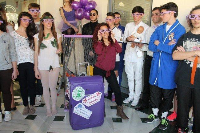 alumnos de Artes Escénicas del IES Severo Ochoa