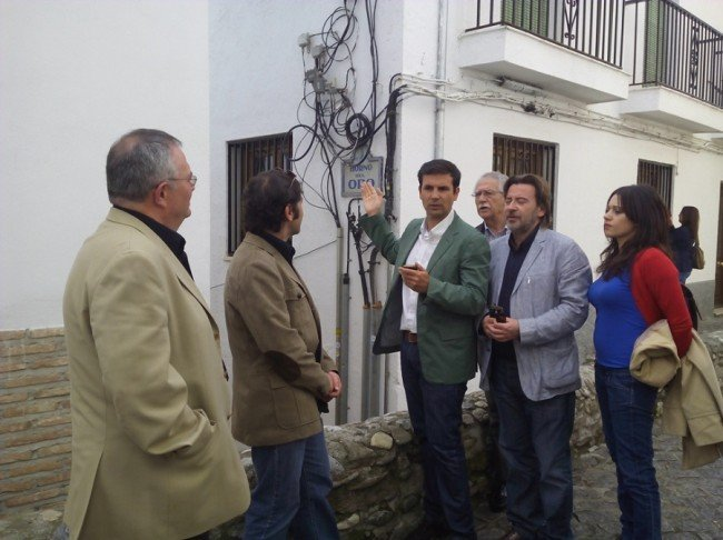 cableado, Albaicín, PSOE