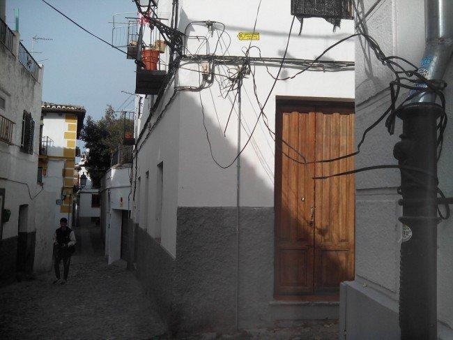 cableado Albaicín