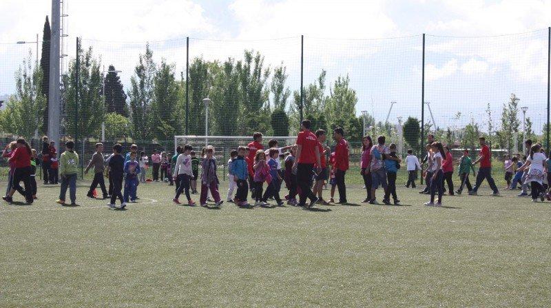 Jornada deportiva en el complejo We