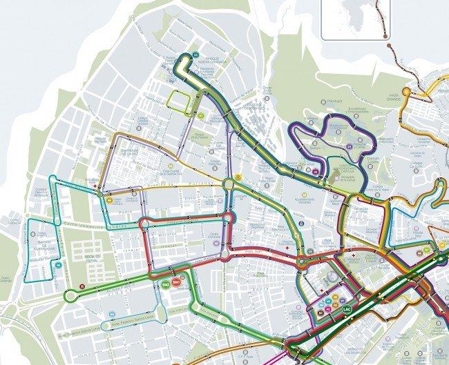 nuevas líneas autobús zona norte granada movilidad