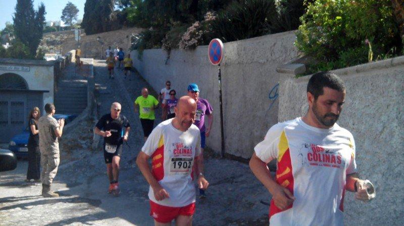 Carrera de las Dos colinas Alhambra Albaicín