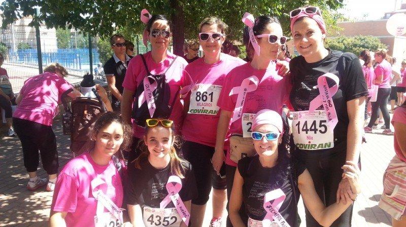 carrera de la mujer en Granada contra el cáncer de mama