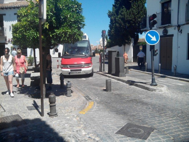 pilonas calle pagés Albaicín