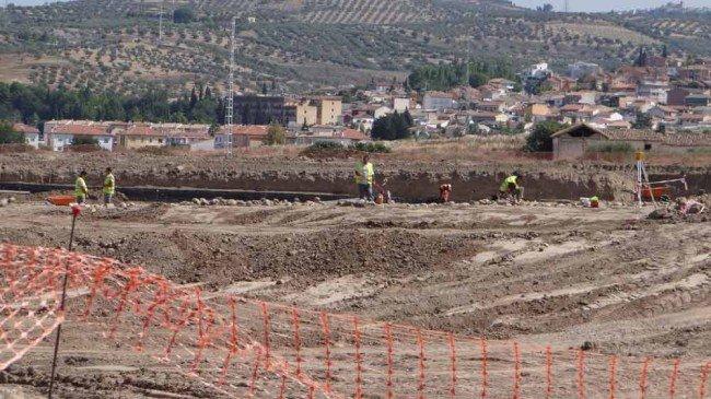 restos arqueológicos granada cf ciudad deportiva norte