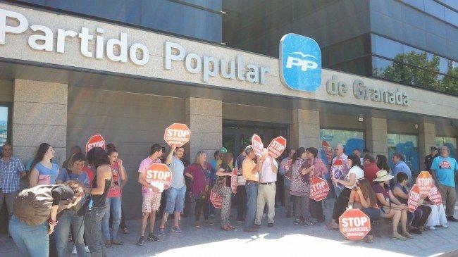 stop desahucios pp