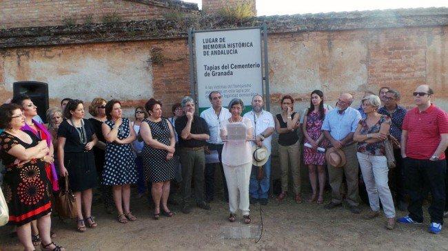 memoria historica cementerio de granada