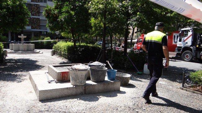 plaza de bibataubin sin monolito a primo de rivera granada
