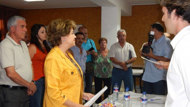 Telesfora Ruiz junta municipal distrito Norte