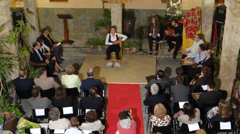 Virginia Abril, flamenco, Corrala de Santiago