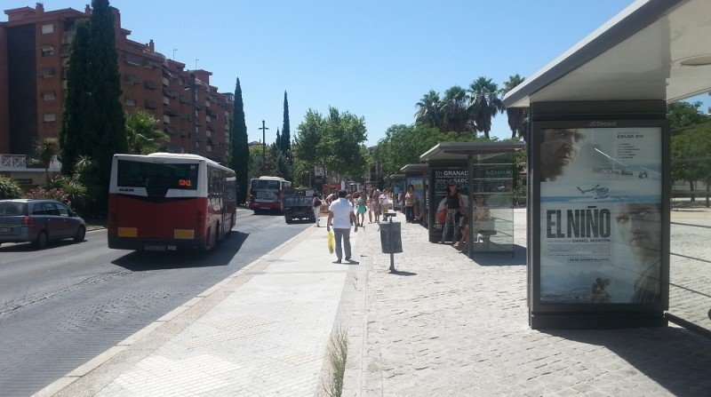parada de autobus palacio de congresos