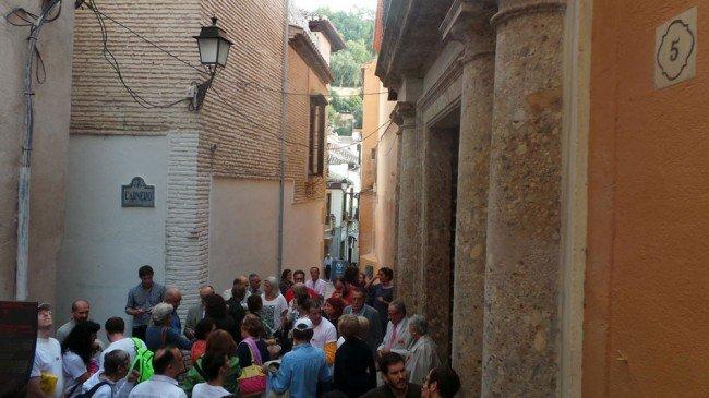 Casa Ágreda Granada protesta