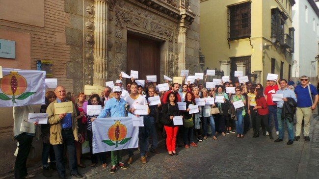museo arqueologico Granada protesta