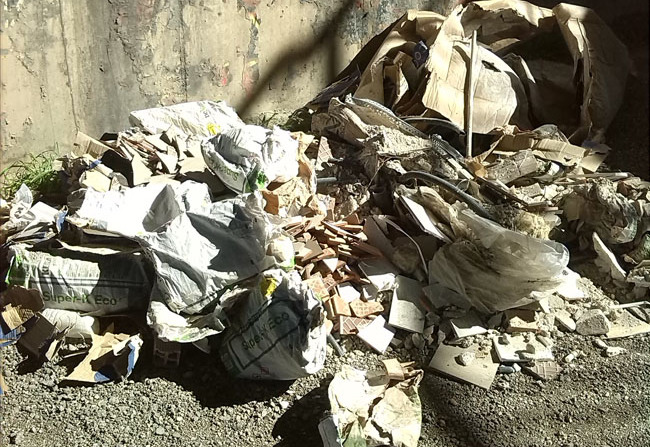 vertidos escombros zaidin