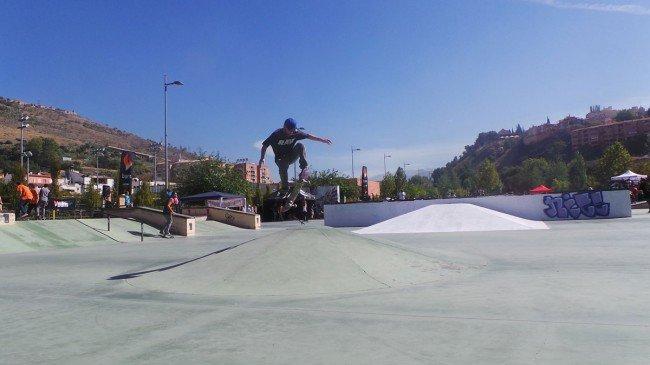 Campeonato de Skate Jam Granada Bola de Oro