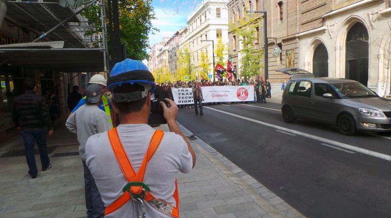 marcha de la dignidad Granada