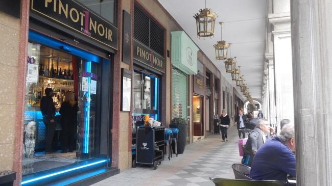 calle ganivet granada bares y restaurante