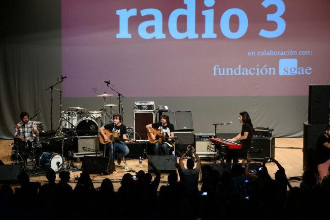 Foto JM Grimaldi Lori Meyers en Fiesta Radio 3 Granada