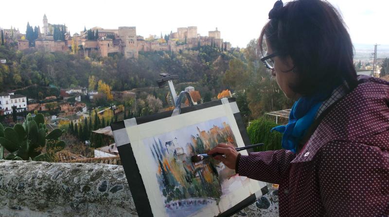 Sacromonte Encuentro de Pintura