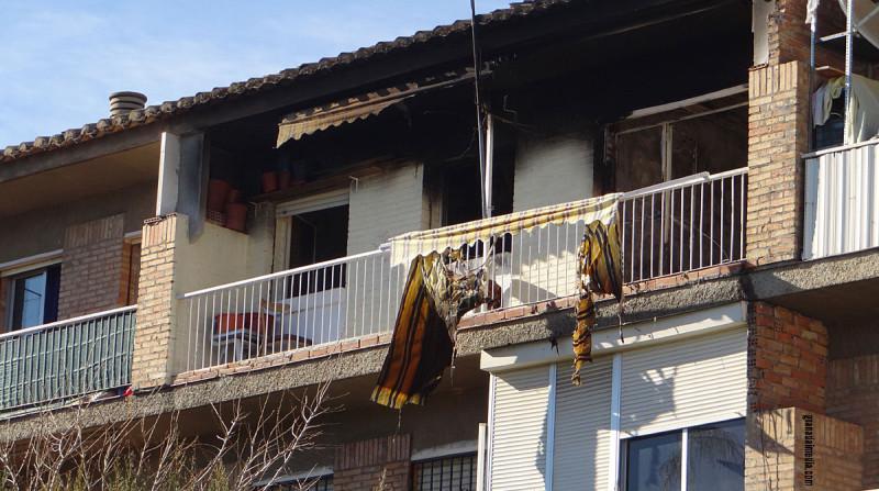 incendio cartuja calle conde de torrepalma