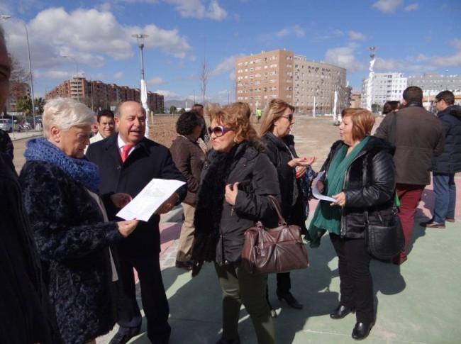 parque la virgencica visita alcalde