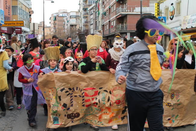 pasacalles carnaval zaidin